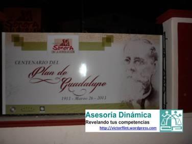 Centenario del Plan de Guadalupe en MUSOR.