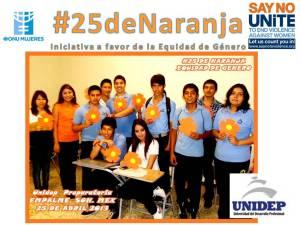 #25deNaranja: en UNIDEP Empalme.