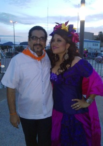 El reencuentro con Geo Meneses la maravillosa intérprete oaxaqueña.